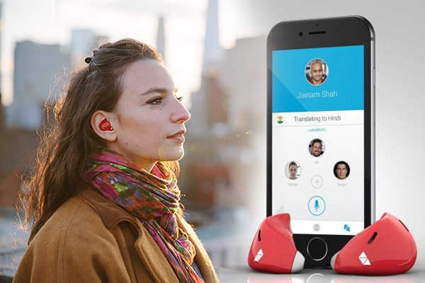 "Video promocional ""Pilot Translation Earpieces, Waverly Labs"""